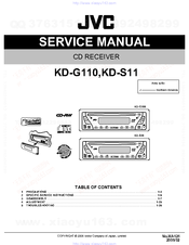 jvc kd g110 service manual pdf download rh manualslib com
