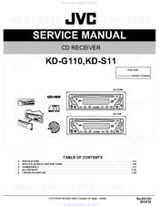JVC KD-G110 Service Manual