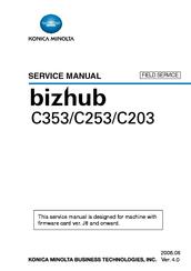 konica minolta bizhub c353 service manual pdf download rh manualslib com bizhub c353 service manual bizhub c452 service manual