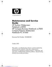 hp presario x1000 notebook pc manuals rh manualslib com Compaq Presario Desktop Compaq Presario Desktop