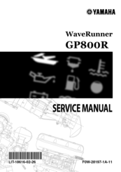 Yamaha GP800R WaveRunner 2003 Service Manual