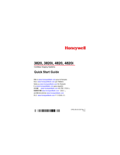 honeywell barcode scanner 3800g manual