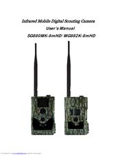 Scoutguard MG882K-8mHD Manuals