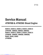 Yanmar 4TNE98 Manuals