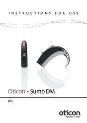 oticon sumo dm manuals rh manualslib com