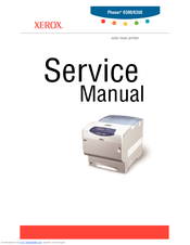 xerox phaser 6350 manuals rh manualslib com Xerox Phaser 6360 Misfeeding Paper Xerox Phaser 6360 Maintenance Kit