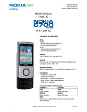 nokia slide 6700 manuals rh manualslib com Nokia 6700 Classic nokia 6700c-1 service manual