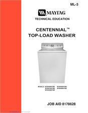 maytag centennial mtw5900tw0 manuals rh manualslib com maytag centennial washing machine parts maytag centennial commercial technology washing machine manual