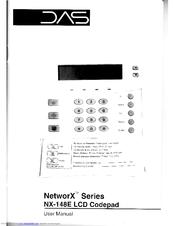 DAS NX-148E LCD CODEPAD USER MANUAL Pdf Download