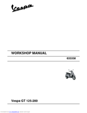 vespa gt 125 workshop manual pdf download rh manualslib com Touring Vespa GT200 Toy Vespa