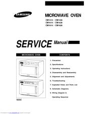 samsung cm1319 service manual pdf download rh manualslib com Samsung Microwave Replacement Parts samsung microwave oven model me18h704sfs owners manual