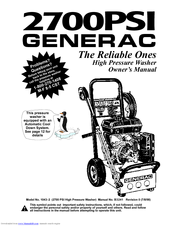 GENERAC POWER SYSTEMS 1043-2 OWNER'S MANUAL Pdf Download