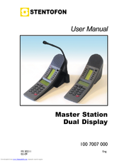 stentofon 100 7007 000 manuals rh manualslib com STENTOFON AlphaCom E7 Manual stentofon turbine user manual