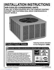 rheem air conditioner installation manual