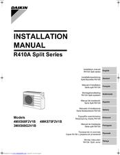 Daikin ftxs35evma manual.
