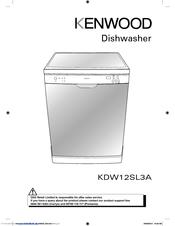 kenwood kdw12sl3a user manual pdf download rh manualslib com kenwood kdw60x10 dishwasher user manual Kenwood KDC 155U Manual