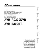 Pioneer Avhp4300dvd Manuals. Pioneer Avhp4300dvd Installation Manual. Wiring. Pioneer Avh P4300 Wiring Diagram At Scoala.co