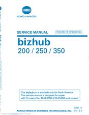 Konica Minolta Bizhub 222 Service Manual
