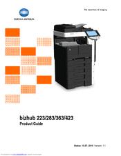 konica minolta bizhub 283 manuals rh manualslib com konica minolta bizhub 283 service manual pdf konica minolta bizhub 223 service manual