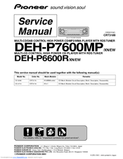 826564_dehp7600mp_product pioneer deh p7600mp manuals pioneer deh-p7600mp wiring diagram at fashall.co