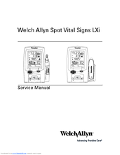 Traditional prod service manual welch allyn.