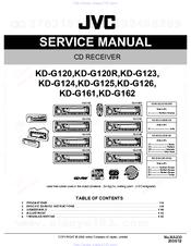 jvc kd g110 wiring diagram jvc kd g162 manuals manualslib  jvc kd g162 manuals manualslib