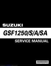 suzuki gsf1250 service manual pdf download rh manualslib com suzuki bandit 1250 user manual suzuki gsf 1250 bandit owners manual