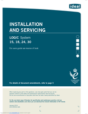 Ideal Boilers Logic System 24 Manuals on