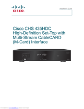 cisco chs 435hdc manuals rh manualslib com