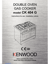 Kenwood CK 404 G Instructions For Use Manual
