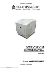 RICOH G104 SERVICE MANUAL Pdf Download