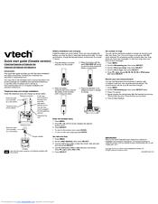 vtech baby monitor instructions