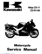 kawasaki ninja zx 11 service manual pdf download rh manualslib com
