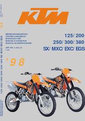 ktm 1998 125sx owner s manual pdf download rh manualslib com 2007 ktm 250 sx owners manual 2014 ktm 250 sx owners manual