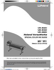 roland vs 540i manuals rh manualslib com roland versacamm vs-640 manual pdf roland versacamm vp-540i manual