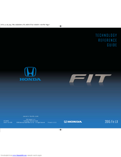Honda 2015 Fit EX Technology Reference Manual