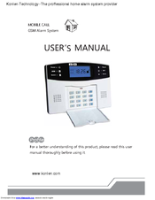 Konlen Mobile Call Gsm Alarm System User Manual Pdf Download Manualslib