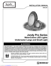 Jandy CSHVLEDS50 Installation Manual
