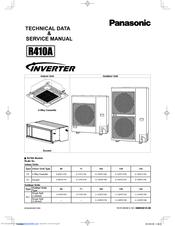 panasonic r410a manuals rh manualslib com panasonic inverter r410a service manual panasonic inverter econavi r410a manual