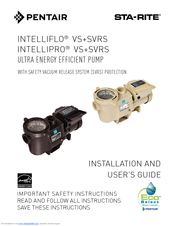 pentair intelliflo vs svrs installation and user manual pdf download rh manualslib com pentair intelliflo vs svrs manual pentair intelliflo vs svrs manual