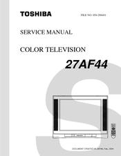 Toshiba 27AF44 Manuals