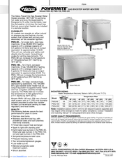 Hatco Powermite Pmg 200 Manuals