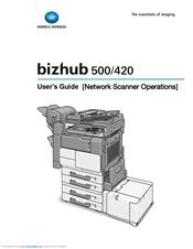 konica minolta bizhub 420 manuals rh manualslib com Konica Minolta Bizhub C308 Konica Minolta Bizhub C353