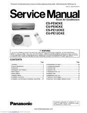 panasonic r410a remote control manual