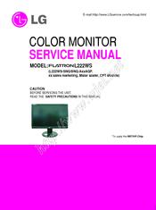 lg flatron l222ws manuals rh manualslib com lg flatron slim monitor manual lg flatron monitor driver