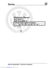 volkswagen golf plus owners manual download