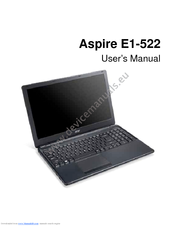 Acer Aspire E1-522 User Manual