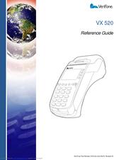 verifone vx 520 series apacs 40 manuals rh manualslib com Verifone Vx510 Manual Verifone Vx510 Manual