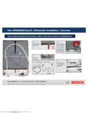 Bosch 300 Series Installation Manual