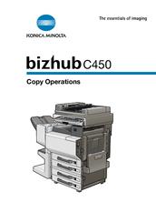 konica minolta bizhub c450 manuals rh manualslib com bizhub c450 service manual pdf bizhub c450 service manual free download